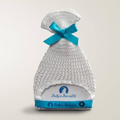 d3d58757c2f Baby s Bonnette bleu lagon - Baby s Bonnette